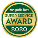 2020 Angie's List Super Service Award